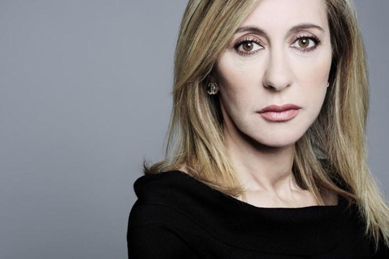 A jornalista Judite Sousa