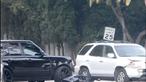 Jolie e Beckham envolvidos em acidentes de viação