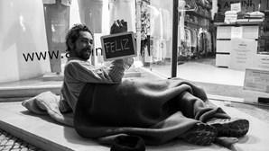 Retratos dos sonhos de sem-abrigo da capital