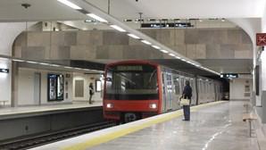 Greve fecha Metro de Lisboa na segunda-feira