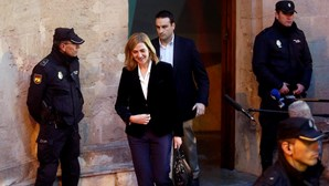 Infanta Cristina no banco dos réus