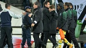 Sporting: guerra fria entre presidente e treinador