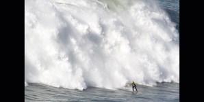 O momento após a saída da onda