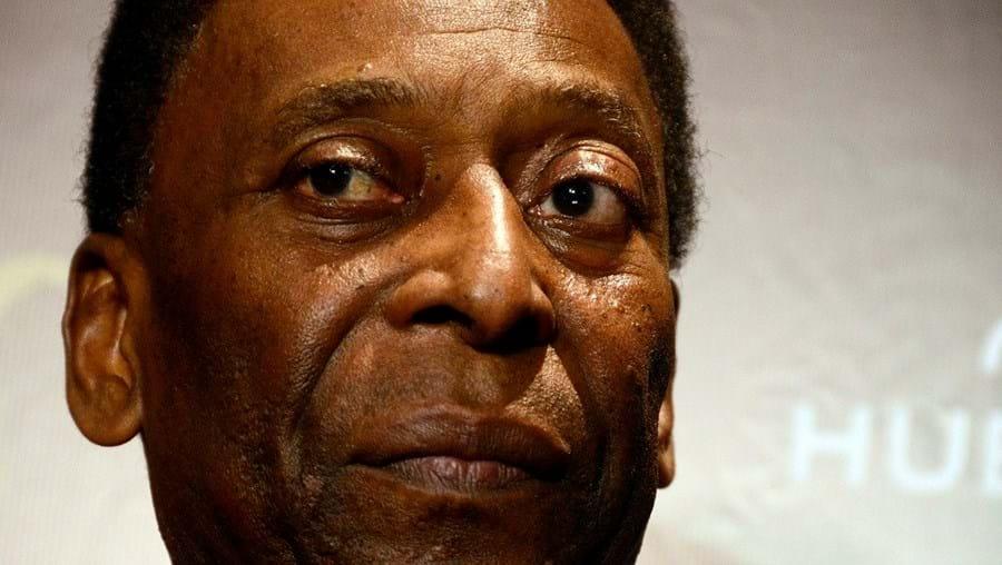 Antigo futebolista brasileiro Pelé
