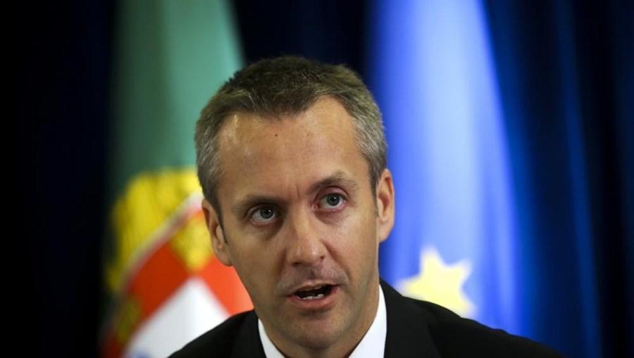 O secretário de Estado dos Transportes e Comunicações, Sérgio Monteiro