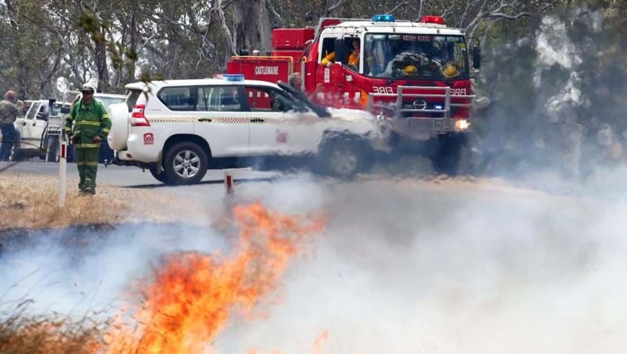 incêndio demorou quatro horas até ser extinto