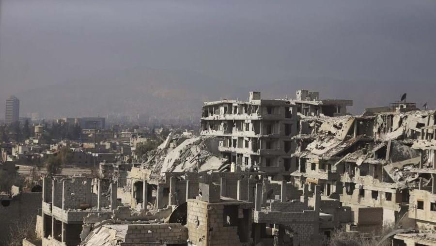 Os estragos são avultados na Síria. O património foi afetado