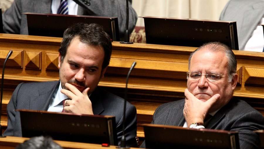 Sérgio Sousa Pinto e Alberto Costa visitaram José Sócrates