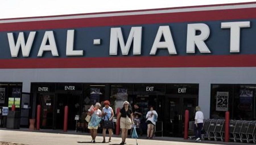 Fachada de supermercado Walmart