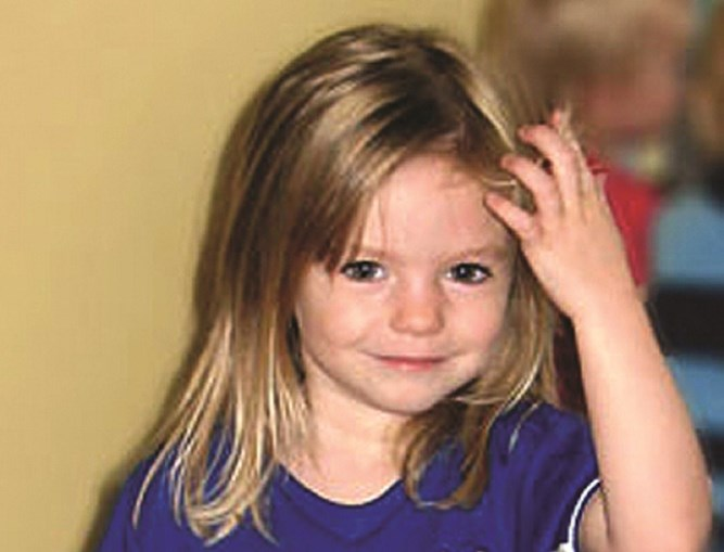 Maddie McCann desapareceu na Praia da Luz a 3 de maio de 2007