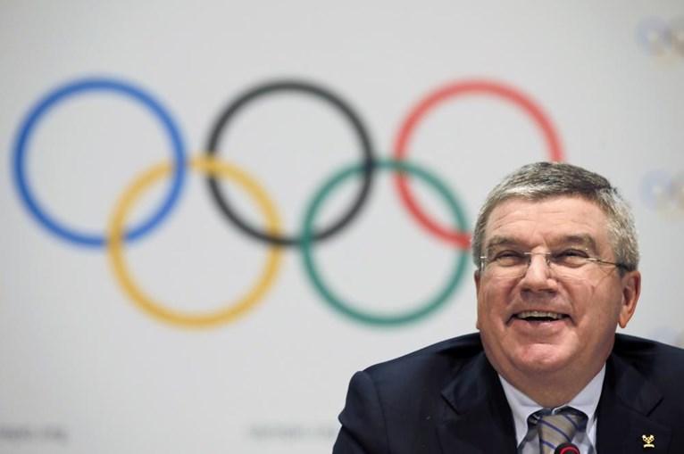 O Comité Olímpico Internacional é presidido por Thomas Bach