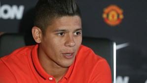 Marcos Rojo diz que foi para o Manchester para ganhar tudo