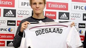 """Martin Odegaard imune à """"pressão"""" de jogar no Real Madrid"""