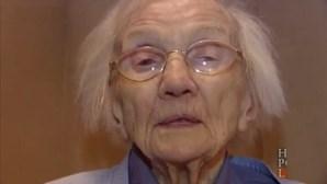 """Vive 109 anos por """"evitar os homens"""""""