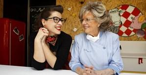 Filipa Vacondeus durante o programa televisivo 'À boleia com Filipa', o último protagonizado pela 'senhora dos restinhos'