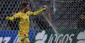 Gauld marcou dois golos no jogo do Sporting frente ao Belenenses, mas a equipa de Alvalade acabou por perder