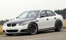 Este Luma CLR 730 RS é uma versão costumizada do BMW M5 E60