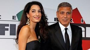 Amal e Clooney foram protagonistas de um casamento de sonho