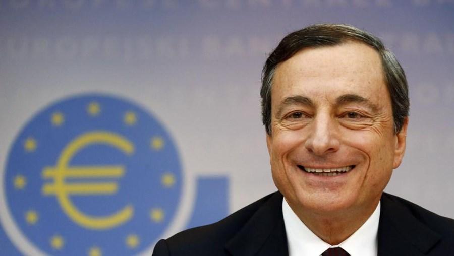 """""""As medidas hoje anunciadas serão a âncora para estabilizar os preços"""", disseMario Draghi"""