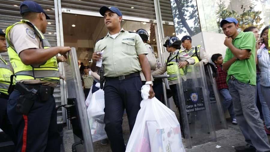 Protestos na Venezuela levaram a detenções
