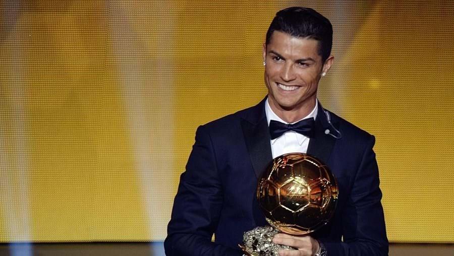 Cristiano Ronaldo, jogador do Real Madrid, conquistou três Bolas de Ouro
