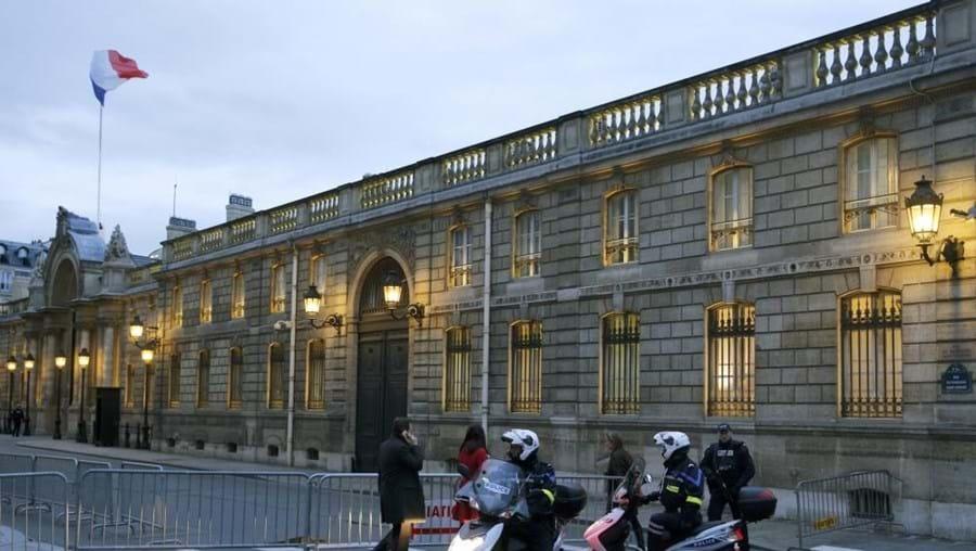 Incidente aconteceu na noite de quarta-feira perto do Palácio do Eliseu