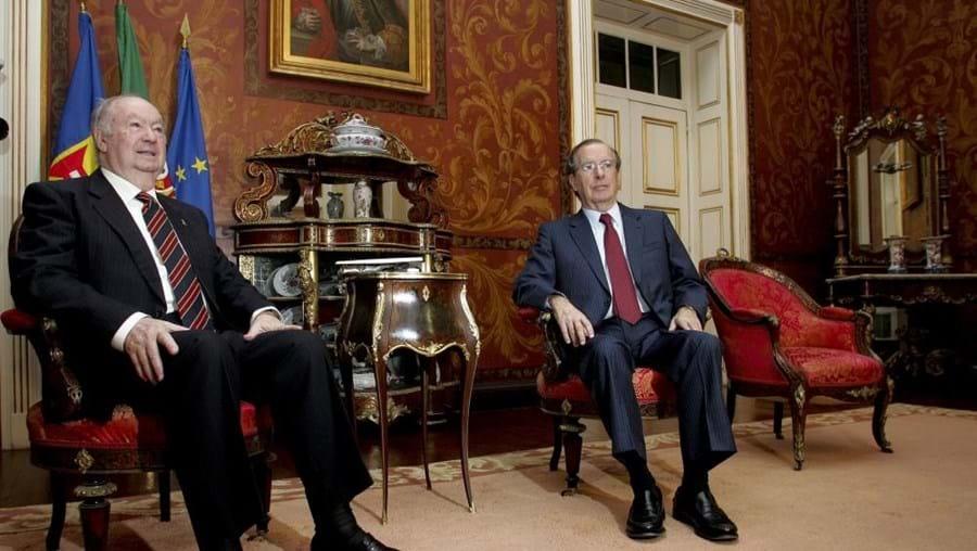 Irineu Barreto, aqui ao lado de Alberto João Jardim, é o representante da República na Madeira