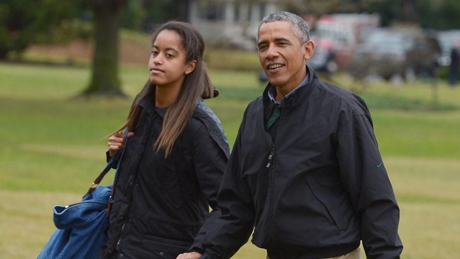 Malia é a filha mais velha de Barack Obama