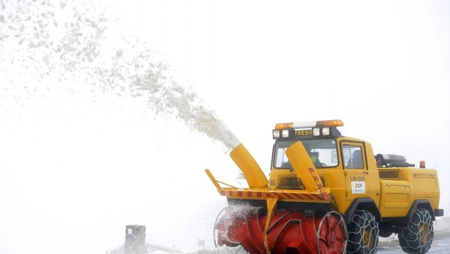 """IPMA prevê para esta quinta-feira """"queda de neve acima de 1.400/1.600 metros"""