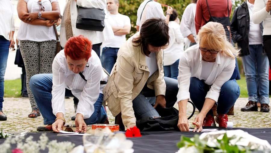 Vigília em memória das vítimas, em novembro passado