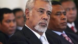 Marcelo recebe antigo chefe de Estado de Timor-Leste no Palácio de Belém