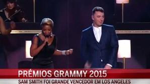 Sam Smith é o grande vencedor dos Grammy