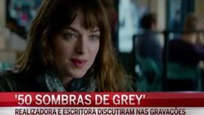 Tensão nas gravações de 'As Cinquenta Sombras de Grey'