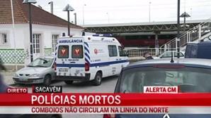 Dois polícias morrem numa perseguição em Sacavém