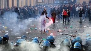 Polícia não admite distúrbios no Feyenoord-Roma