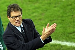 Federação russa de futebol devia salários a Fabio Capello