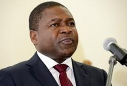 Filipe Nyusi é presidente da República de Moçambique