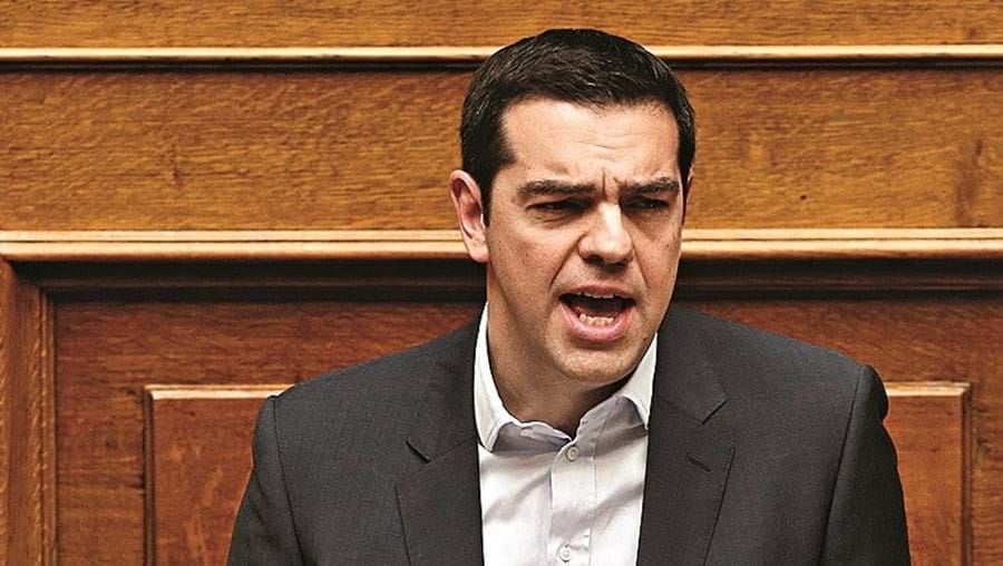 O primeiro-ministro grego insistiu na recusa do resgate externo