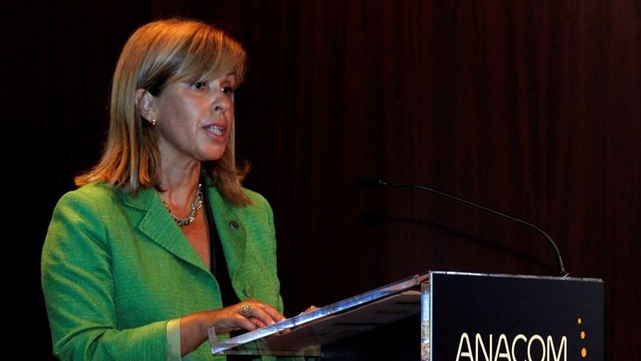 Fátima Barros é presidente da Autoridade Nacional de Comunicações desde 2012