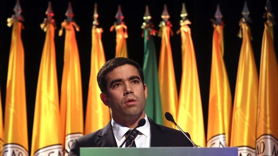 O Secretário de Estado da Administração Local António Leitão Amaro