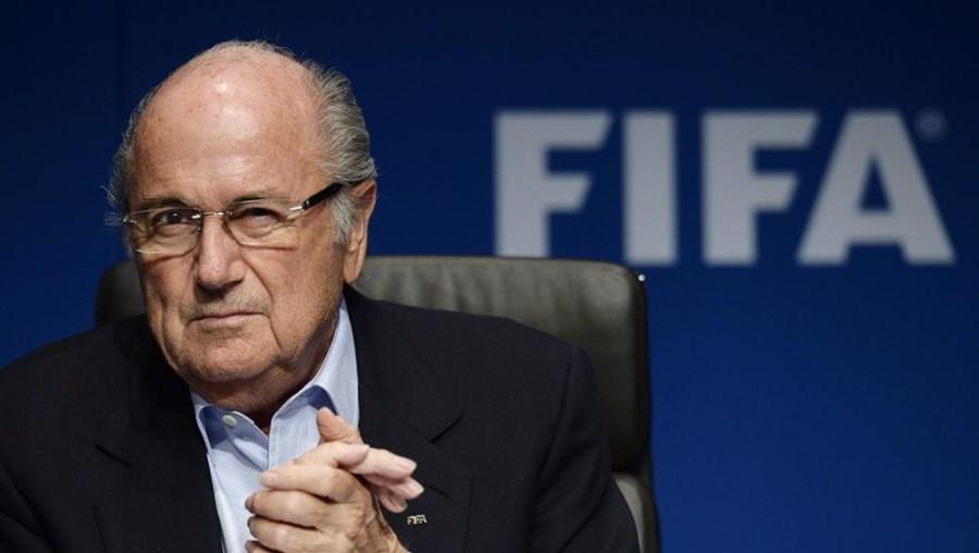 O presidente da FIFA Joseph Blatter