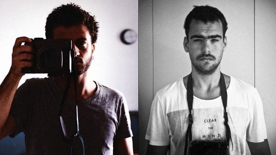 Os fotojornalistas José Sarmento Matos e Mário Cruz