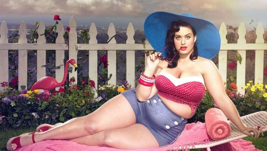 """Katy Perry é uma das celebridades que foi """"engordada"""""""