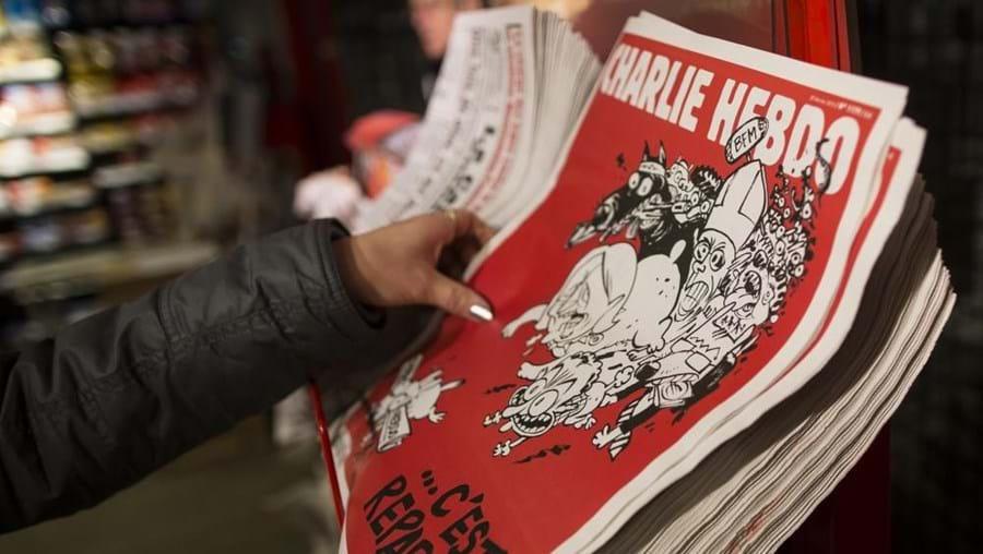 Não houve filas de pessoas que madrugaram para comprar o novo número do Charlie Hebdo