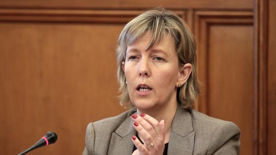 A ministra de Estado e das Finanças Maria Luís Albuquerque