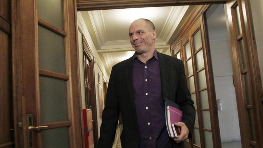 Ministro das Finanças grego, Yanis Varoufakis