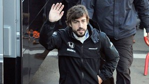 Acidente apaga memória a Alonso
