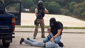 Polícias de elite atacam colegas da PSP em treino