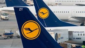 Greve na Lufthansa cancela 12 ligações