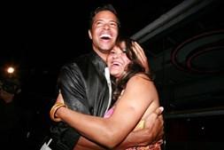 Filomena Vieira com o filho, Angélico Vieira